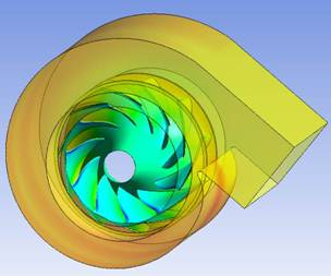 Low Pressure Mixed Flow Fan Design